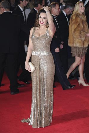 Kelly Brook 'Skyfall' premiere in London 10/23/12