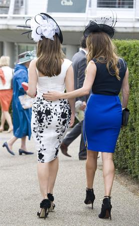 Kelly Brook - at Ladies Day,Goodwood - August 2,2012