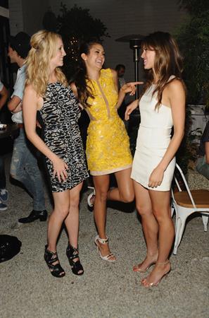 Nina Dobrev Cosmopolitan's Summer Bash, Aug 10, 2013