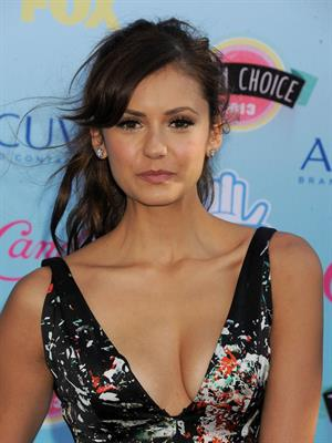 Nina Dobrev at the 2013 Teen Choice Awards Universal City California August 11, 2013