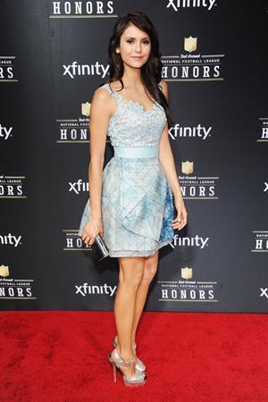 Nina Dobrev 2nd Annual NFL Honors, Feb 2, 2013