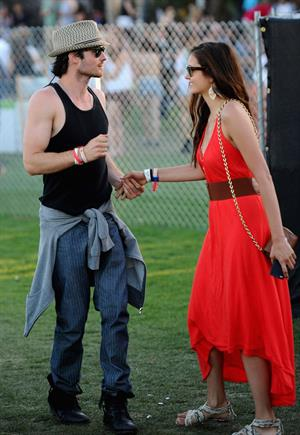 Nina Dobrev 2012 Coachella Valley Music Arts Festival day 3 April 15, 2012