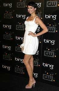 Nina Dobrev the CW Premiere Party at Warner Bros Studios on September 10, 2011