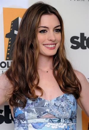 Anne Hathaway 15th annual Hollywood Film Awards Gala October 24, 2011