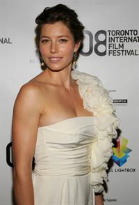 Jessica Biel Easy Virtue premiere during the 2008 Toronto international film festival