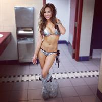 Dannie Riel in a bikini