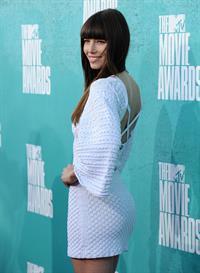 Jessica Biel at 2012 MTV Movie Awards, Los Angeles, June 3, 2012