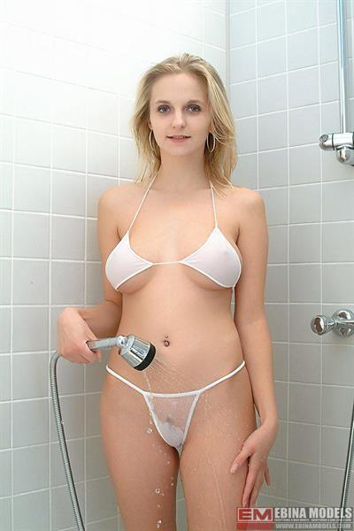 Darina in lingerie - breasts