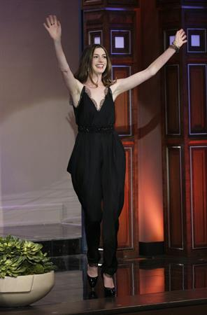 Anne Hathaway on the Tonight Show with Jay Leno April 11, 2010
