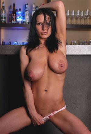 Aksana Shyker - breasts