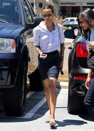 Zoe Saldana in Studio City 7/24/12