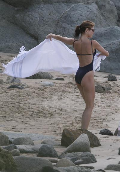 Stephanie Seymour in a bikini