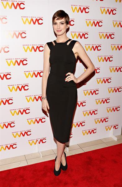 Anne Hathaway - 2012 Womens Media Awards