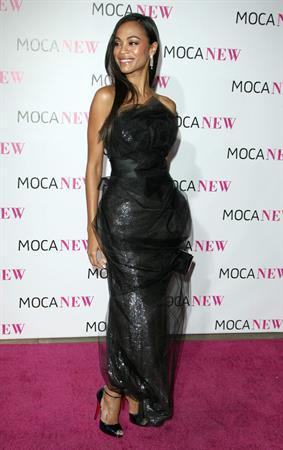 Zoe Saldana MOCA New 30th Anniversary Gala