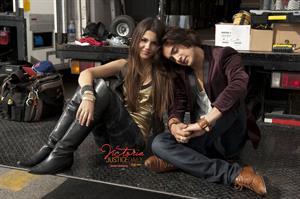 Victoria Justice fst 'Freak the Freak Out' music video set stills 2010