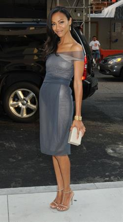 Zoe Saldana at 2009 CFDA Fashion Awards June 15, 2009