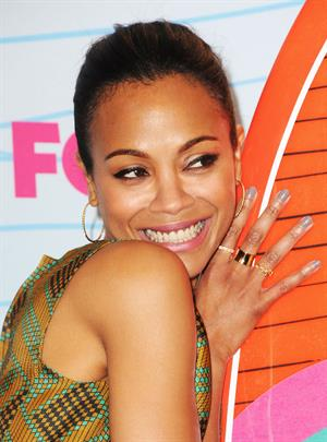 Zoe Saldana - 2012 Teen Choice Awards in Universal City (July 22, 2012)
