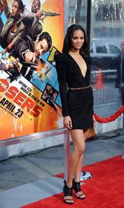 Zoe Saldana  The Losers  premiere April 20