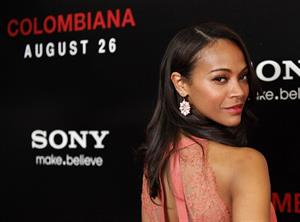 Zoe Saldana  Colombiana  Los Angeles screening - Aug. 24, 2011