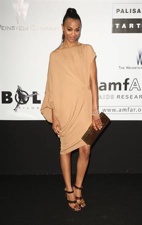 Zoe Saldana - 62nd Cannes Film Festival - amfAR Gala, 05/21/09