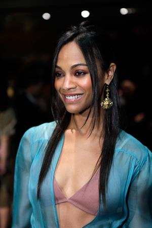 Zoe Saldana - Prada book launch party - Beverly Hills, Nov. 13, 2009