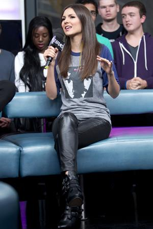 Victoria Justice on New Music Live at MuchMusic in Toronto 10/17/12