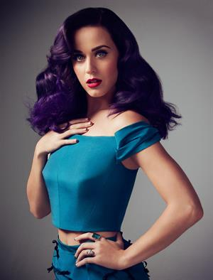 Katy Perry The Hollywood Reporter Jun/Jul 2012