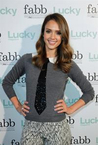 Jessica Alba at FABB (Fashion and Beauty Blog) conference April 30, 2012