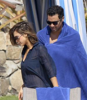 Jessica Alba holiday in Cabo San Lucas December 31, 2010