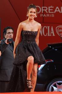 Jessica Alba Machete premiere at the 67th Venice International Film Festival on January 9, 2010