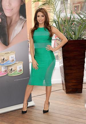 Eva Longoria attends the Sheba Feed Your Passion Campaign Launch at Copacabana in New York 07.03.13