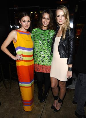 Jessica Alba - Who What Wear celebrates the launch in West Hollywood on October 3, 2011
