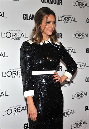 Jessica Alba at the Women of the Year Awards on November 7, 2011