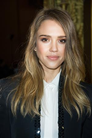 Jessica Alba Stella McCartney F/W 2013 Fashion Show in Paris 04.03.13