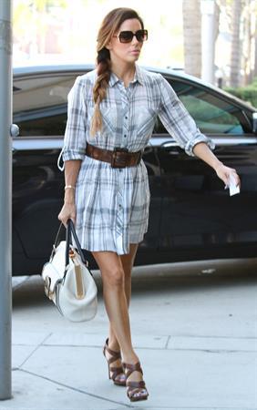Eva Longoria – in Beverly Hills 10/17/13