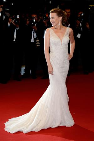 Kylie Minogue Les Salauds Premiere during 66th Annual Cannes Film Festival in Cannes 21.05.13