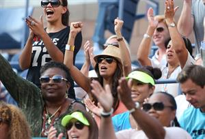 Eva Longoria - US Open in Flushing Meadows 30.08.12