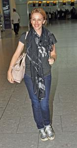 Kylie Minogue Heathrow Airport - November 11, 2012