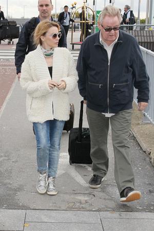 Kylie Minogue Heathrow Airport in London - October 31, 2012