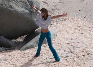 Alessandra Ambrosio photoshoot candids in St Barth