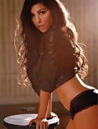 Kourtney Kardashian in lingerie
