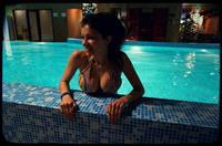 Larisa Krylova in a bikini