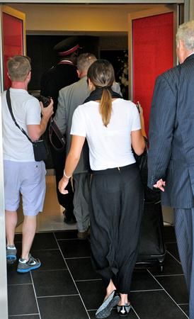 Lea Michele  departs LA airport 9/21/12