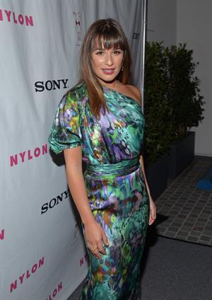 Lea Michele - Nylon September TV Issue Party in Beverly Hills - September 15, 2012