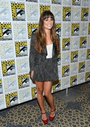 Lea Michele @  GLEE  Press Room during Comic-Con 2012 - July 14, 2012