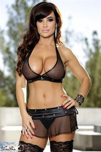 Lisa Ann in lingerie