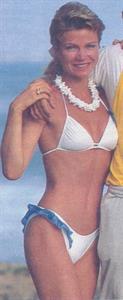 Karen Cheryl in a bikini