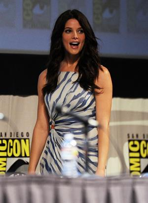 Ashley Greene press conference for the Twilight Saga Breaking Dawn part 1 at Comic Con July 21, 2011