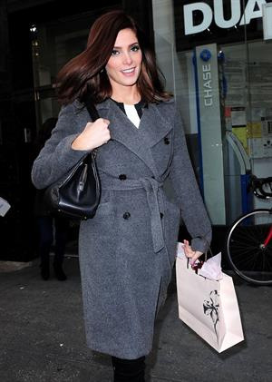 Ashley Greene Spotted on the streets of New York (November 15, 2012)