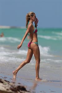 Lauren Stoner in a bikini